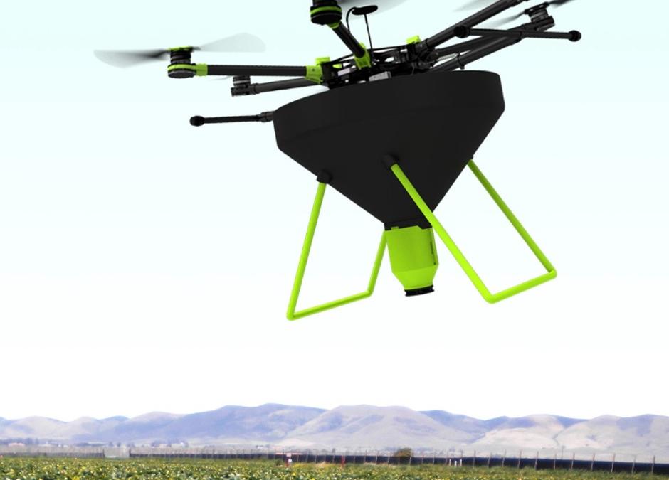 Droner skal udbringe vores nyttedyr på bl.a. danske marker