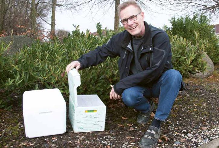 Indlæg om vores humlebier i Gartner Tidende