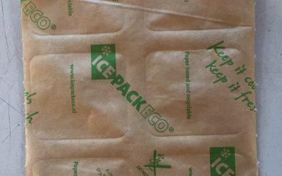 Køleelementer af papir erstatter plasticflasker med is