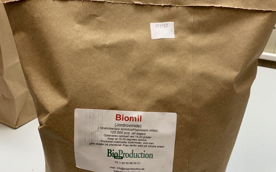 Jordrovmider nu i bionedbrydelige papirposer