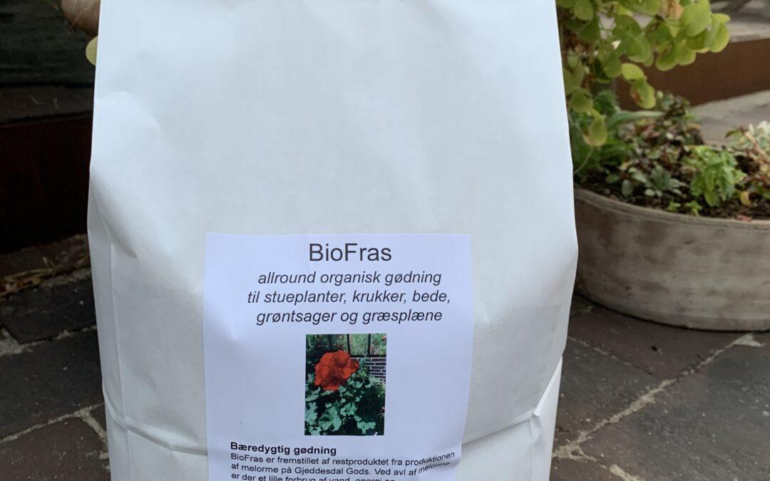 BioFras , en ny organisk gødning.